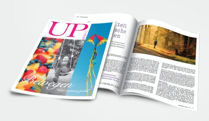 magazine lister up